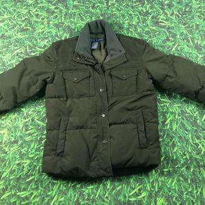 XS Ralph Lauren Dark Olive Puffy Winter Jacket